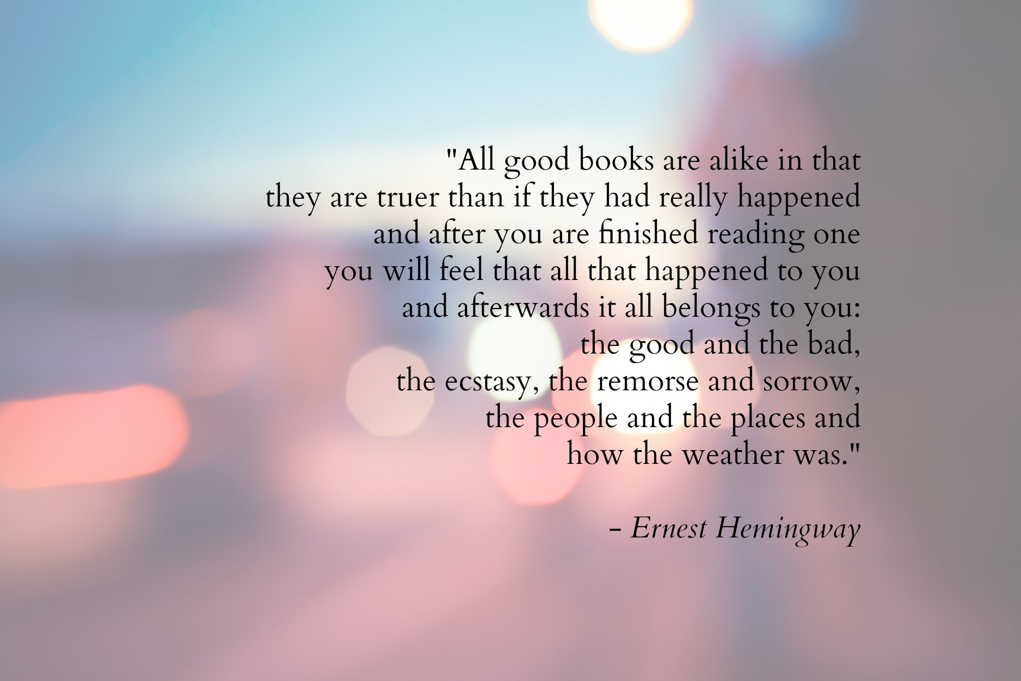 what i would say to hemingway mandy wallace image ernest hemingway quote