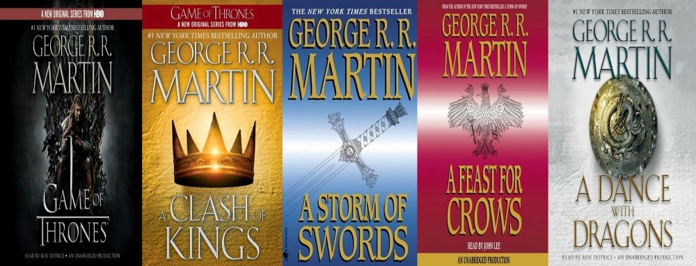 The 5 Best Fantasy Fiction Series of All Time (By Someone Who Hates Fantasy Fiction)