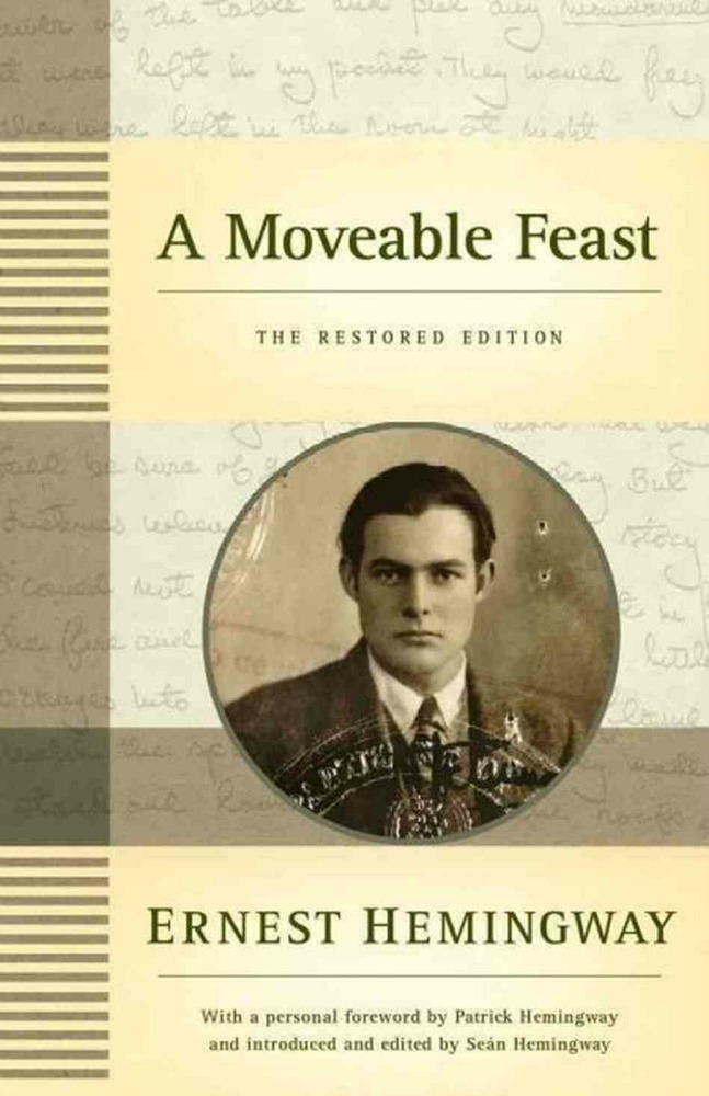 Cover of A Moveable Feast by Ernest Hemingway
