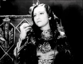 "Adriana Lamar as ""La Malinche"" in the 1933 Mexican film La Llorona"