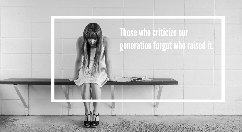 The YOLO Generation: Those Who Criticize Our Generation Forget Who Raised It