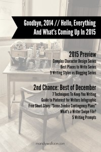 Goodbye To 2014 And What's Coming Up In 2015