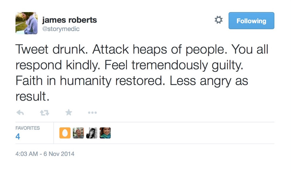 Writer apologizes for rage tweets on Twitter