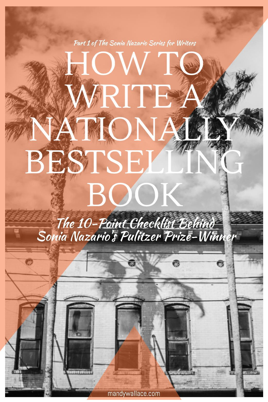 Part One of The Sonia Nazario Interview Series for Writers