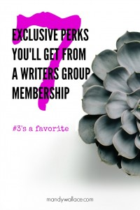 7 Exclusive Perks You Can Only Get from a Writers Group Membership