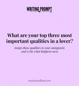 Writing Prompt #115: Lover's Qualities