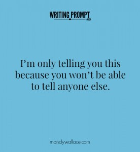 Writing Prompt #120