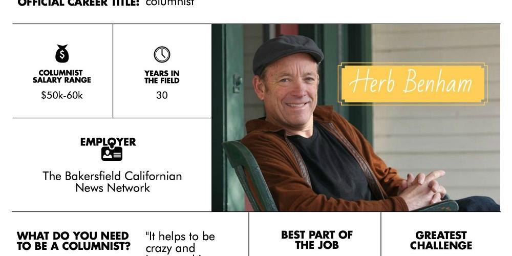Writer Career Profile: Newspaper Columnist