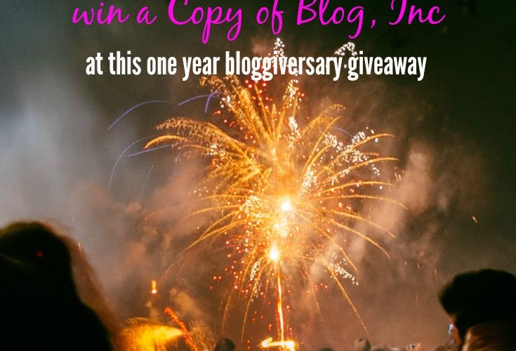 This is Cause for Celebration! (Bloggiversary Giveaway)